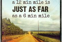 Running images and quotes
