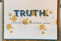 Stampin Up - Words of Truth