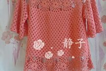 crocheted clothing
