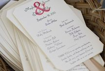 Wedding Stationary and Paper Goods
