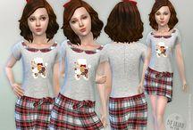 ts4 cc Girl Dress
