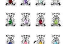 Birthstone teddys / by Cindy Redden