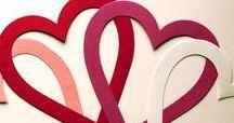Valentinstag / Basteln und dekorieren zum Valentinstag