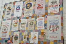 flour sack quilts / by Emily Bailey