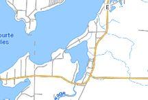 Lac Courte Oreilles Lk Hayward WI / 5139 acres  90' max depth www.woodlanddevrealty.com