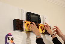 LEGO Wall Ideas / Build a LEGO compatible wall in seconds with http://briktile.com