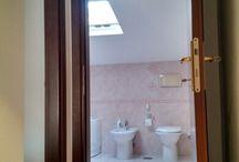 via antonio donghi / ristrutturazione di bagno e camera con rifacimento di impianti, pavimenti e rivestimenti, sostituzione porte interne