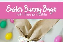 Easter Ideas for Kids & Teens / Easter crafts, Egg hunts with clues, easy food ideas, DIY for kids & adults, ideas for creative basket stuffers and egg fillers, unique baskets for teens, books, free printables and more awesome activities for celebrating Easter with kids & family!