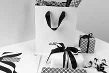 Packaging: Black Fusion / Beautiful gift packing with a strong black influence.