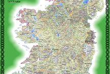 Irish Surnames in Maps / A selection of maps showing Irish Surname distribution through the ages.