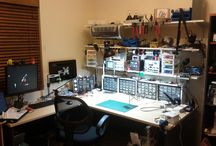 Electronic Labs / Some electronic labs and workbenches from around the world. Professional, University, and Home Hobbyist!