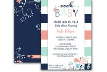 Blush Pink and Mint Baby Shower