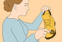 Обувь,уход