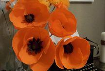 . Nunta Paper flowers
