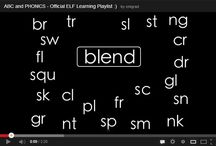 Blends and digraphs videos / by Melissa Harris
