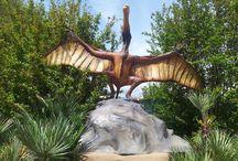 I Dinosauri a Montecatini / La mostra dei dinosauri di Montecatini Terme, con i predatori più feroci del periodo giurassico.