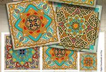 орнамент для вышивки марокко