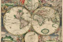 """Maps / I love looking at maps.  It is so much fun to see """"what is where"""". / by Nyla Parker"""