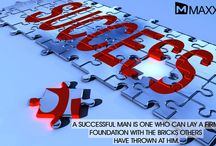 Quote 27-01-14 / A successful man is one who can lay a firm  foundation with the bricks others  have thrown at him.