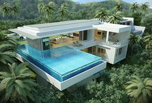 Ultra-modern Sea-view Villas / Boutique, ultra-modern resort development above the Big Buddha bay, Koh Samui, Thailand - featuring 2-3 bedroom luxury villas with spectacular sea-views.180 degree panoramic views and stunning all-year round sunsets - Exclusive location, design driven, quality assured, excellent, investment!  209 - 271 sqm of luxury living: from 18 mil THB   There is also the option to purchase a much larger villa here with 5 bedrooms for 35 mil THB.  For more details visit: www.conradproperties.asia