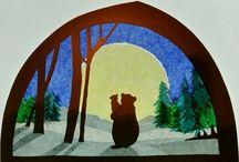 jak zwierzątka przewracały niedźwiedzia