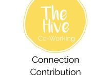 Co-working at The Hive / Connection, Contribution & Collaboration - images of our co-working space and inspiration from others!