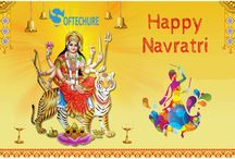 Happy Navratri | Softechure IT Services