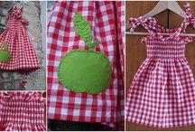 Sew kids clothes / Patronen en recycling