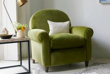 Green Interiors are the New Grey / Green interiors ideas for colour lovers who've had enough of grey.