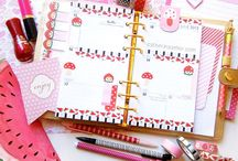 Diaries and Journal decor / Time to stay organized