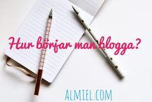 Om att blogga