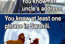 Disney. dat knee