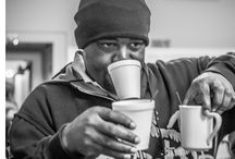 Homeless People / Here are the faces of the homeless people that I have met.