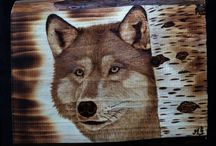 PYROGRAPHY / My works