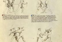 Fencing book - dagger