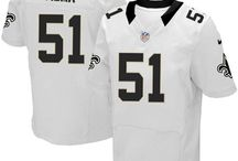 Jonathan Vilma Black Jersey - Women's & Youth & Men's - Authentic Saints Jersey