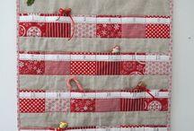 Christmas ideas / Christmas, diy, sewing, homemade