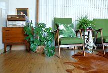 My home & atelier interior / Irene Linders - Interior / vintage / plants lover - illustrator & designer - Instagram @irene_linders