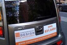 car door advertising