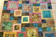 Moje práce deky / My works quilts
