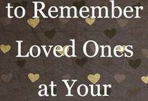 remembering loved ones at wedding