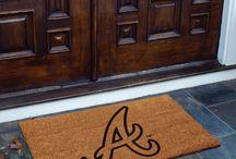 MLB Doormats / Major League Baseball Doormats for your front or back door.