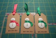 Holiday Homemade Tags