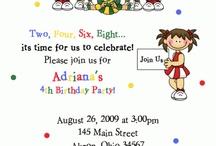 Birthday Party Ideas / by Danielle Fentie
