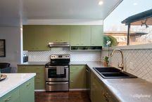 Mid Century Kitchens