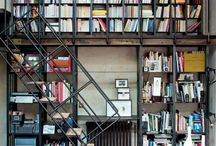Libraries and Built in Book Cases