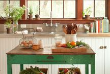Country Kitchen Ideas / by Kathy Ahrens
