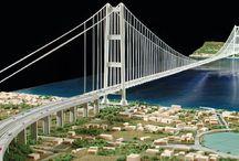 Ponte sullo Stretto di Messina, scala 1:2000