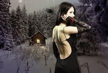 My Last Work on Deviant Art / Gothic & Fantasy Photomanipulation