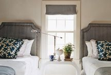 TWO BEDS / great guest rooms or kids rooms with two or three beds. / by Ingrid @ {Houndstooth and Nail}